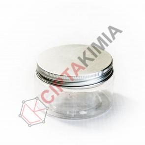 Pot PET Bening Tutup Aluminium 100gr