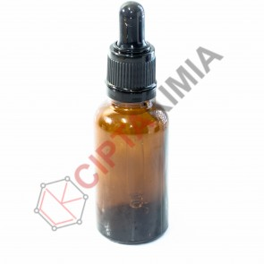Botol Amber Pipet 30ml (Tebal)